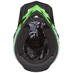 ONeal Fury RL Helmet Crawler black/green